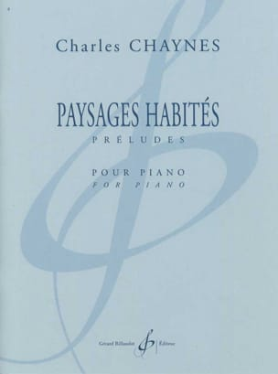 Charles Chaynes - Inhabited Landscapes - Sheet Music - di-arezzo.co.uk