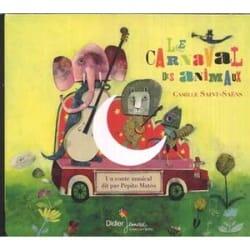 Le Carnaval des Animaux Camille Saint-Saëns Livre laflutedepan