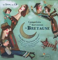 Comptines et Berceuses de Bretagne Livre laflutedepan