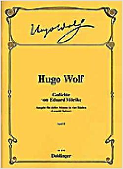 Gedichte Von Eduard Morïke Volume 2 Hugo Wolf Partition laflutedepan