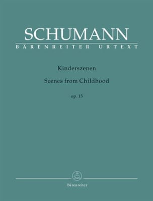 SCHUMANN - Kinderszenen Opus 15 - Sheet Music - di-arezzo.co.uk