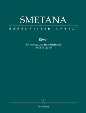 Rêves Bedrich Smetana Partition Piano - laflutedepan