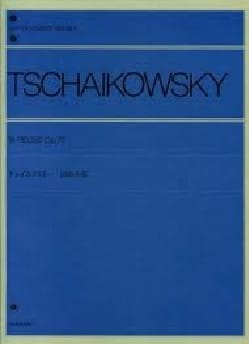 18 Pieces Op.72 - TCHAIKOWSKY - Partition - Piano - laflutedepan.com