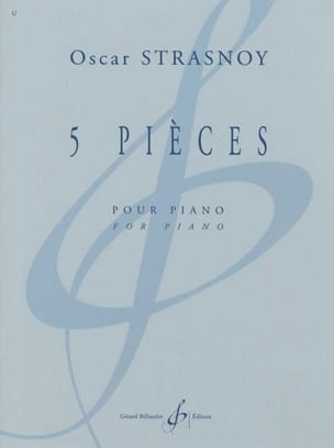 Oscar Strasnoy - 5 Pièces - Partition - di-arezzo.fr