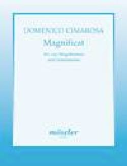 Magnificat CIMAROSA Partition Chœur - laflutedepan