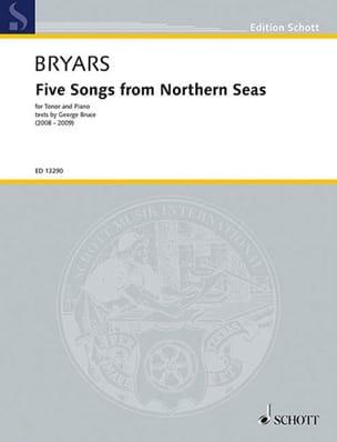 5 Songs From Northern Seas - Gavin Bryars - laflutedepan.com