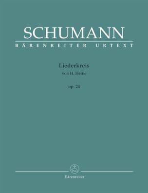 SCHUMANN - Liederkreis Opus 24 - Sheet Music - di-arezzo.co.uk