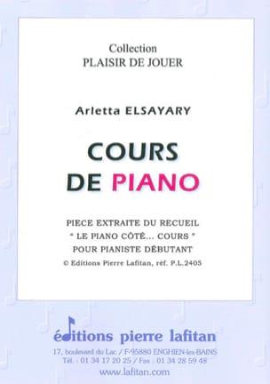 Arletta Elsayari - Cours de Piano - Partition - di-arezzo.fr