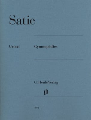 Erik Satie - 3 Gymnopedies - Partition - di-arezzo.com