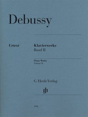 DEBUSSY - Work For Piano Volume 2 - Sheet Music - di-arezzo.co.uk
