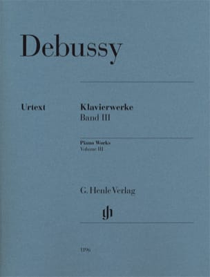 DEBUSSY - Work For Piano Volume 3 - Sheet Music - di-arezzo.co.uk