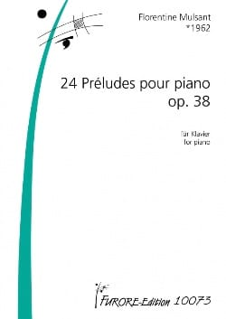 24 Préludes Opus 38 - Florentine Mulsant - laflutedepan.com
