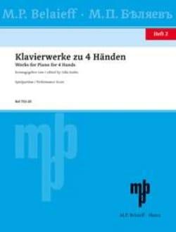 Klavierwerke Zu 4 Händen Volume 2 - Partition - laflutedepan.com
