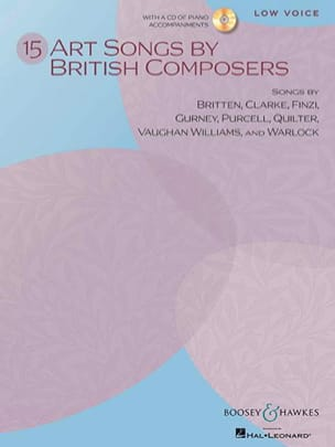 - 15 Art Songs By British Composers (Voix Grave) - Partition - di-arezzo.fr