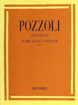 Ettore Pozzoli - Solfeggi Parlati Cantati 1 - Sheet Music - di-arezzo.com