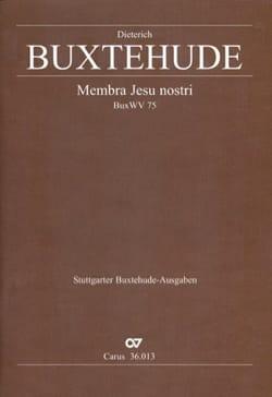 Membra Jesu Nostri. choeur - Dietrich Buxtehude - laflutedepan.com