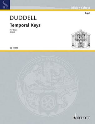 Temporal Keys - Joe Duddell - Partition - Orgue - laflutedepan.com