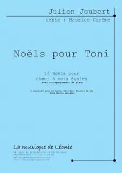 Julien Joubert - Christmas for Toni - Sheet Music - di-arezzo.com