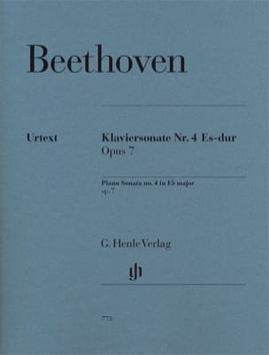 BEETHOVEN - Sonata No. 4 E flat Major Opus 7 - Sheet Music - di-arezzo.com