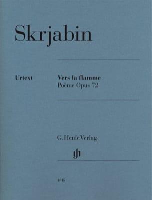 Alexander Scriabine - Vers la Flamme Opus 72 - Partition - di-arezzo.fr