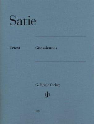 Gnossiennes SATIE Partition Piano - laflutedepan