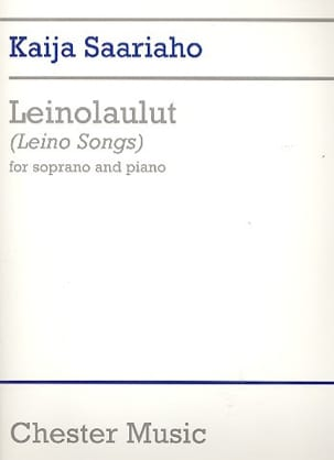Kaija Saariaho - Leino-Laulut (Leino Songs) - Sheet Music - di-arezzo.co.uk