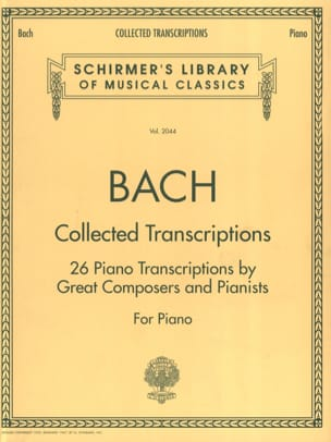 Collected Transcriptions BACH Partition Piano - laflutedepan