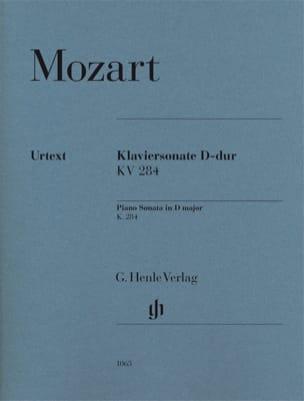 MOZART - Sonate Pour Piano En Ré Majeur K. 284 (205b) - Partition - di-arezzo.fr