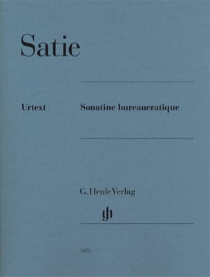 Sonatine Bureaucratique Erik Satie Partition Piano - laflutedepan