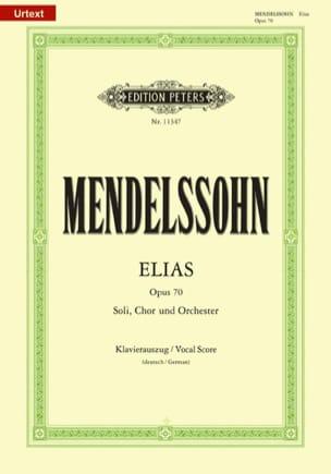 Elias MENDELSSOHN Partition Chœur - laflutedepan