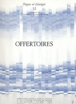 - Offertoires - Partition - di-arezzo.fr