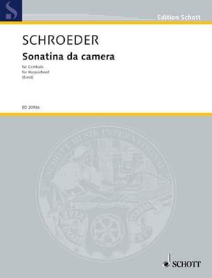 Sonatina Da Camera - Hermann Schroeder - Partition - laflutedepan.com