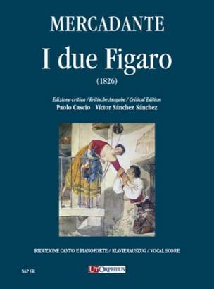 Saverio Mercadante - I Due Figaro - Sheet Music - di-arezzo.co.uk