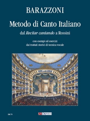 Maurizia Barazzoni - Metodo Di Canto Italiano - Sheet Music - di-arezzo.com
