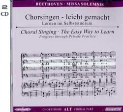 Missa Solemnis op. 123. 2 CD Alto - BEETHOVEN - laflutedepan.com