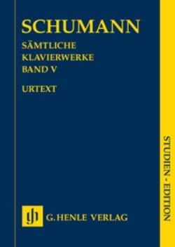 Robert Schumann - Oeuvre Pour Piano Volume 5 - Edition de Poche - Partition - di-arezzo.fr