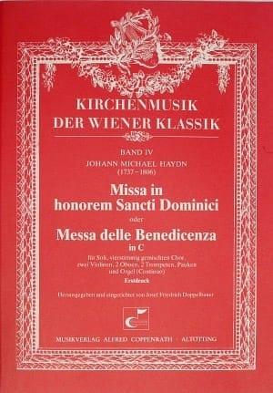 Michael Haydn - Missa In Honorem Sancti Dominici MH 419 - Sheet Music - di-arezzo.com