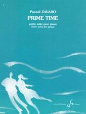 Prime Time Pascal Zavaro Partition Piano - laflutedepan