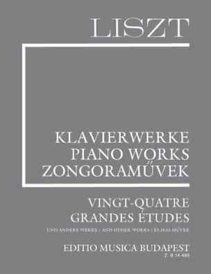 Franz Liszt - 24 (12) Grandes Etudes. Supplément 4 - Partition - di-arezzo.fr