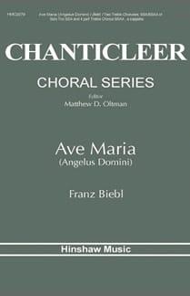 Ave Maria (Angelus Domini) - Franz Biebl - laflutedepan.com