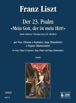 Franz Liszt - Der 23. Psalm Mein Gott, Der Est Mein Hirt - Partition - di-arezzo.fr