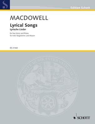 Lyrical Songs. Vx Grave - Edward MacDowell - laflutedepan.com