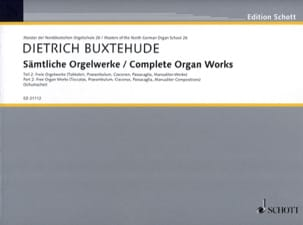 Œuvre D'orgue Complète Volume 2 - laflutedepan.com