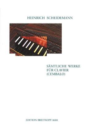 Heinrich Scheidemann - Samtliche Werke Fur Klavier - Partition - di-arezzo.fr