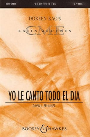 David Brunner - Yo el canto todo el dia - Partitura - di-arezzo.es