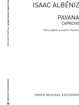 Isaac Albeniz - Pavana Capricho Opus 12. 4 hands - Sheet Music - di-arezzo.co.uk