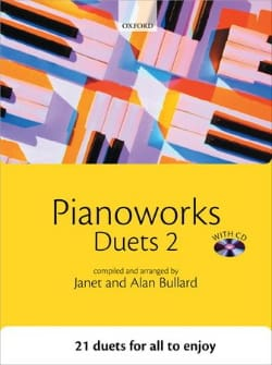 Pianoworks Duets 2 Partition Piano - laflutedepan