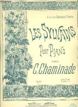 Les Sylvains Op. 60 Cécile Chaminade Partition Piano - laflutedepan