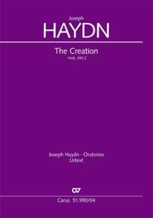 The Creation. Hob 21-2 - HAYDN - Partition - Chœur - laflutedepan.com