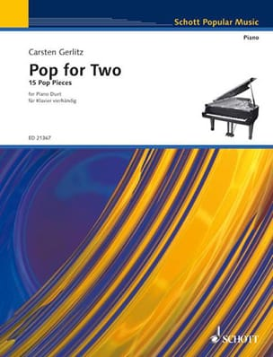 Carsten Gerlitz - Pop For Two - Partition - di-arezzo.fr